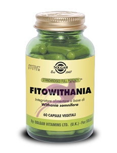 Solgar FitoWithania Integratore 60 Capsule