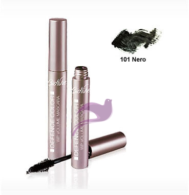 Bionike Linea Defence Color Volume Mascara Water Resistant Ciglia Finte 101 Nero
