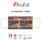 Mascherine Chirurgiche Certificate MyMask Pro I Floral 10 pezzi