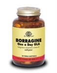 Solgar Borragine One Day Integratore 30 Perle