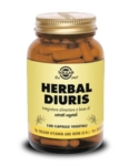 Solgar Herbal Diuris Integratore 100 Capsule