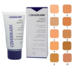 Covermark Linea Face Magic Fondotinta Lunga Tenuta Coprente Viso 30 ml Colore 10