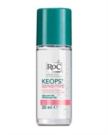 RoC Linea Deodoranti Keops Deodorante Roll on Sensitive Pelle Fragile 30 ml