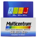 Multicentrum Linea Vitamine Minerali Select 50  Integratore 50 Anni 30 Compresse