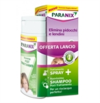 Paranix Linea Anti Pediculosi Paranix Spray PidocchiShampoo Post Trattamento
