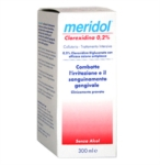 meridol Linea Igiene Dentale Quotidiana Collutorio Clorexidina 0 20 300 ml